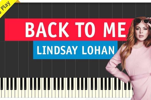 Lindsay Lohan ăn mặc lộng lẫy để... ngồi nhà quảng bá đĩa đơn mới