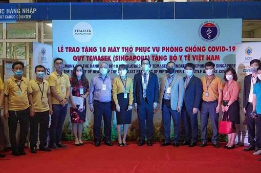 Quỹ đầu tư Singapore hỗ trợ Việt Nam trong công tác điều trị COVID-19