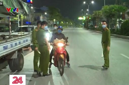 Quảng Ninh thực hiện giờ giới nghiêm trong công tác phòng chống dịch