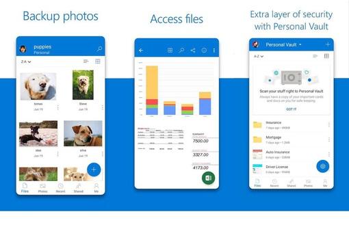 OneDrive hỗ trợ tính năng mở khóa bằng khuôn mặt