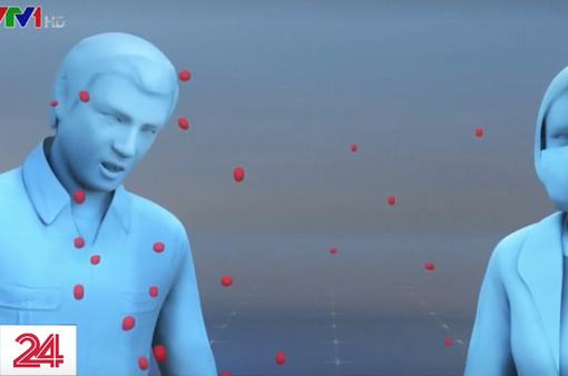 Virus SARS-CoV-2 có thể lây lan qua hơi thở bình thường