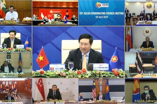 Hội nghị Bộ trưởng Ngoại giao ASEAN và ASEAN +3 về COVID-19 lần đầu tiên diễn ra theo hình thức trực tuyến