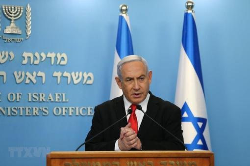 Thủ tướng Israel Benjamin Netanyahu ra hầu tòa tại Jerusalem