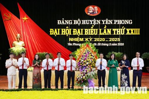 Đại hội Đảng bộ cơ sở và mục tiêu phát triển bền vững