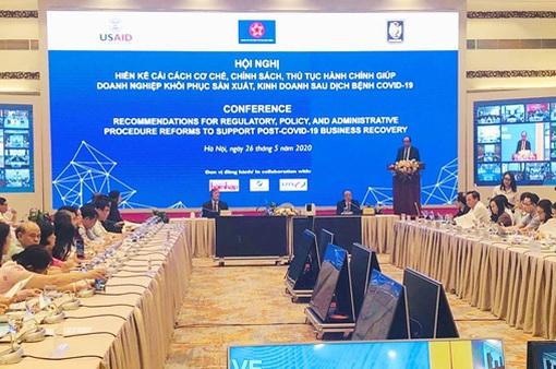 Hiến kế cải cách giúp doanh nghiệp khôi phục sản xuất, kinh doanh sau COVID-19