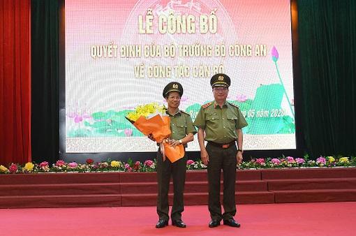 Bổ nhiệm Phó Chánh Thanh tra Bộ Công an, Giám đốc Công an tỉnh Hòa Bình