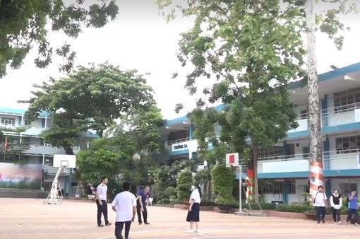 Nhập nhằng việc quản lý cây xanh trong trường học