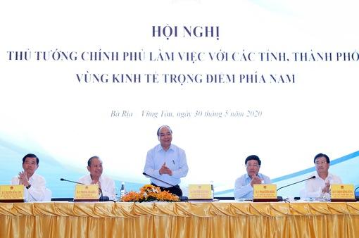 Thủ tướng chủ trì Hội nghị vùng kinh tế trọng điểm phía Nam