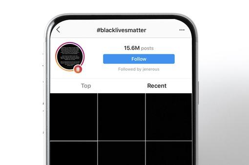 Mạng xã hội phủ đầy những tấm hình đen chống phân biệt chủng tộc
