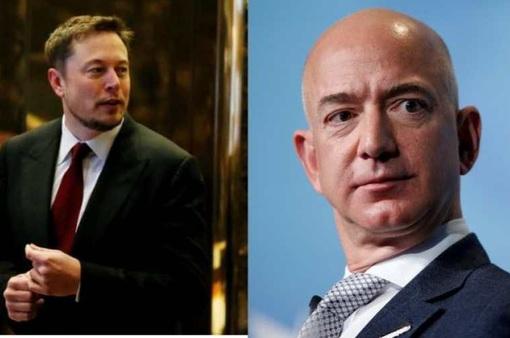 """Elon Musk """"cà khịa"""" Jeff Bezos: Amazon đã đến lúc cần chia tách"""