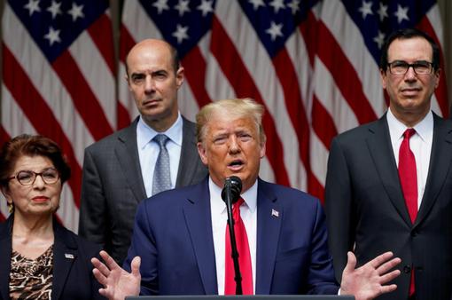 """Tổng thống Trump: Kinh tế Mỹ đang """"hồi phục mạnh mẽ"""""""