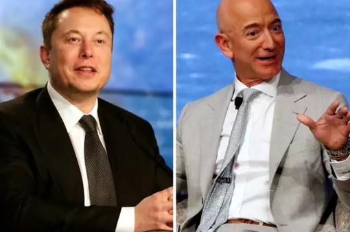Cuộc đối đầu nóng lên giữa bộ đôi tỷ phú Elon Musk và Jeff Bezos