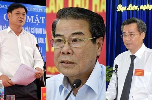 6 Bí thư Tỉnh ủy được điều động về Trung ương là ai?