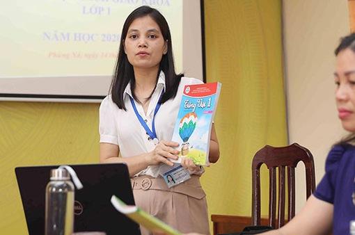 Làm thế nào để 70.000 giáo viên lớp 1 sử dụng sách giáo khoa mới hiệu quả?