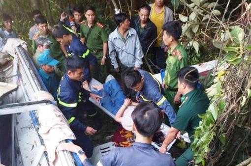 Vụ xe khách lao xuống vực tại Kon Tum: 2 ca dập phổi, suy thận diễn biến nặng