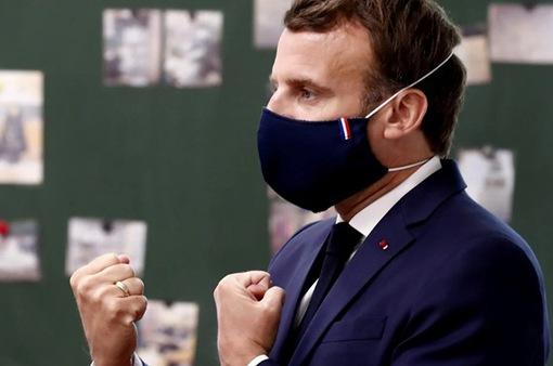 Tổng thống Pháp yêu cầu đeo khẩu trang tại tất cả địa điểm công cộng