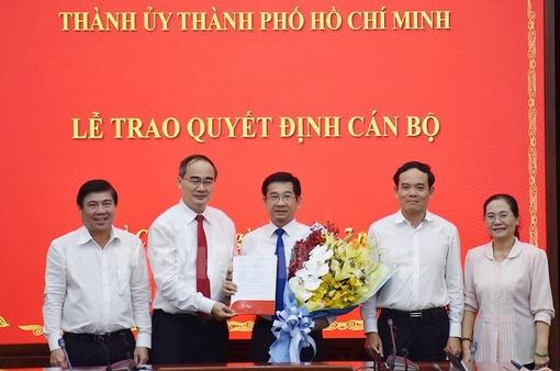 Ông Dương Ngọc Hải giữ chức Chủ nhiệm Ủy ban Kiểm tra Thành ủy TP.HCM
