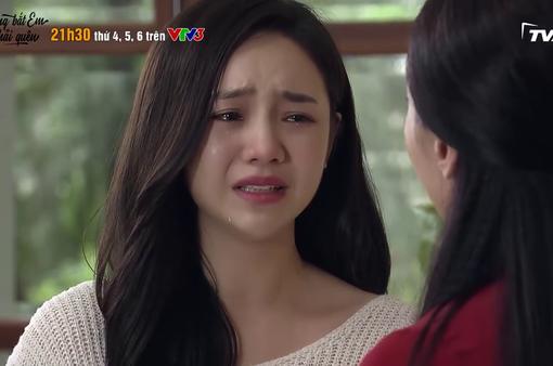 Đừng bắt em phải quên - Tập 25: Ngọc khóc như mưa vì bị Linh gọi là... con hoang