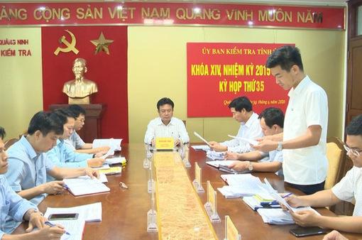 Hai Phó Chủ tịch UBND TP Cẩm Phả bị kỷ luật
