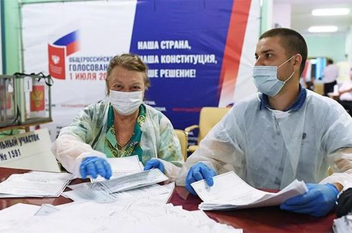 Hơn 77% cử tri Nga đồng ý sửa đổi hiến pháp