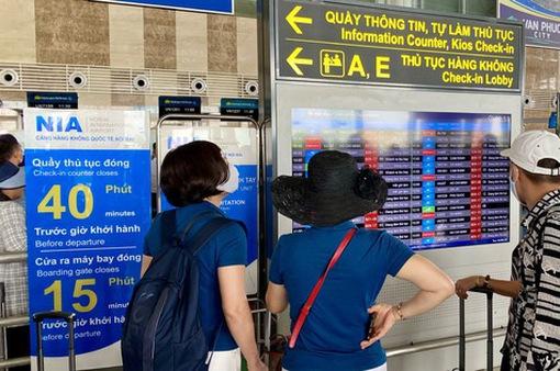 Từ cuối tháng 7, sân bay Nội Bài hạn chế loa thông báo chuyến bay