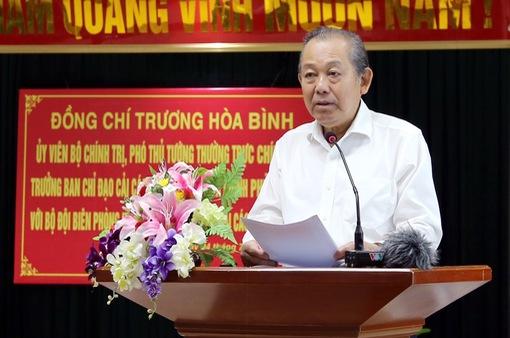 PTTg Trương Hòa Bình: Loại khỏi bộ máy những cán bộ bảo kê, tiếp tay cho gian lận thương mại