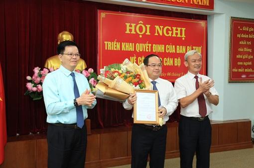 Phó trưởng Ban Tổ chức Trung ương được bổ nhiệm Phó Bí thư Tỉnh ủy Đồng Nai
