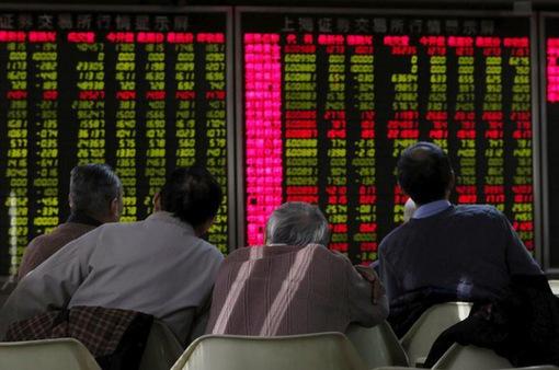 """Chứng khoán Trung Quốc tăng """"phi mã"""""""