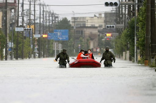 Mưa lũ kỷ lục tại Nhật Bản: Số nạn nhân thiệt mạng tăng lên 59 người