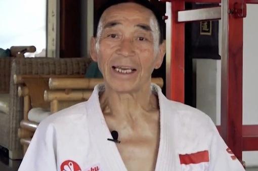 Võ sư người Nhật 75 tuổi vẫn miệt mài truyền bá võ thuật