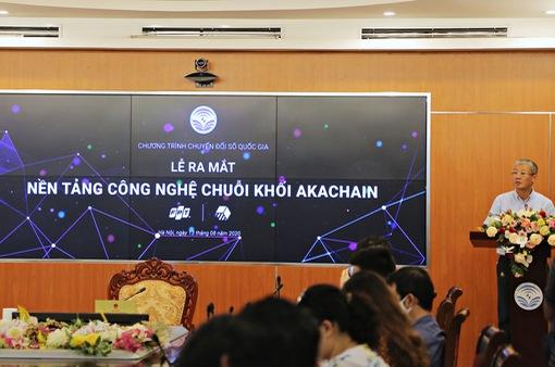 """Ra mắt nền tảng công nghệ chuỗi khối """"Make in Vietnam"""" akaChain"""