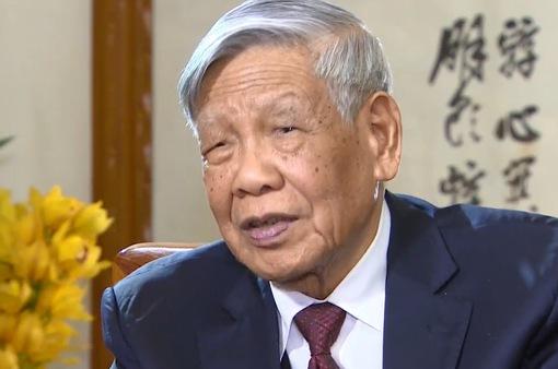 Nguyên Tổng Bí thư Lê Khả Phiêu luôn quyết liệt đấu tranh vì sự trong sạch của Đảng
