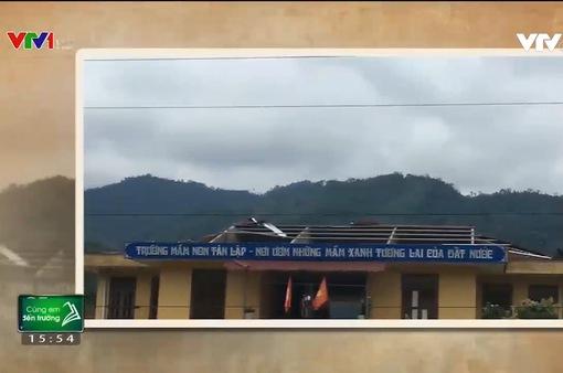 Hỗ trợ trường học vùng cao Hà Giang sau mưa lũ