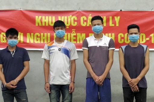 Khởi tố 4 đối tượng người nước ngoài vượt biên trái phép vào Việt Nam
