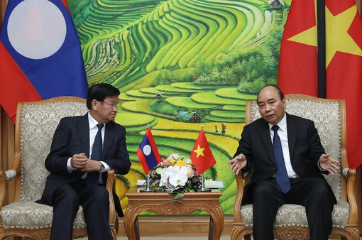 Thủ tướng Lào: Sự ra đi của đồng chí Lê Khả Phiêu là một tổn thất to lớn