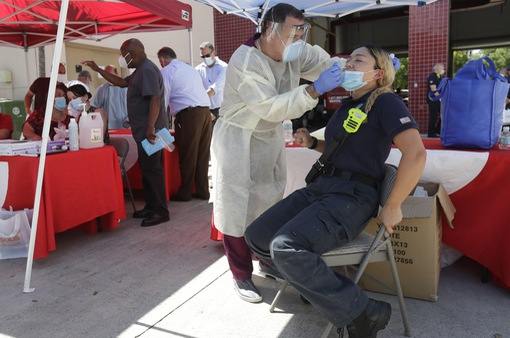 Gần 21,3 triệu người nhiễm COVID-19 trên toàn cầu, nhiều nước ghi nhận số ca mắc mới tăng cao