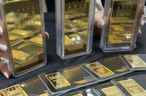 Giá vàng trong nước tăng trong phiên giao dịch cuối tuần