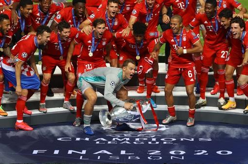 Bayern đánh bại PSG để lần thứ 6 giành cúp bạc Champions League