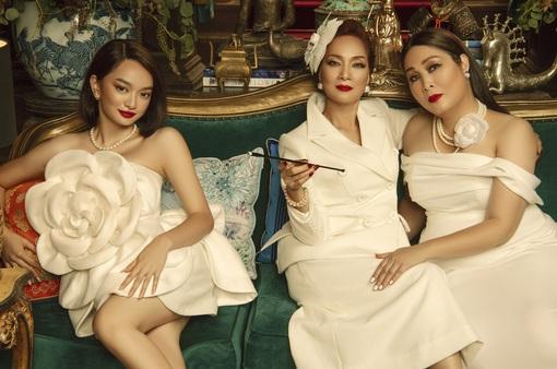 Lê Khanh, Hồng Vân và Kaity Nguyễn hóa thân ba chị em vương giả