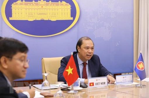 Đối thoại ASEAN - Mỹ theo hình thức trực tuyến