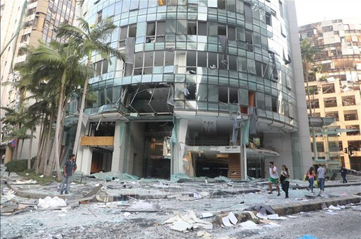 Vụ nổ kinh hoàng ở Lebanon, số người thiệt mạng tăng lên hơn 100