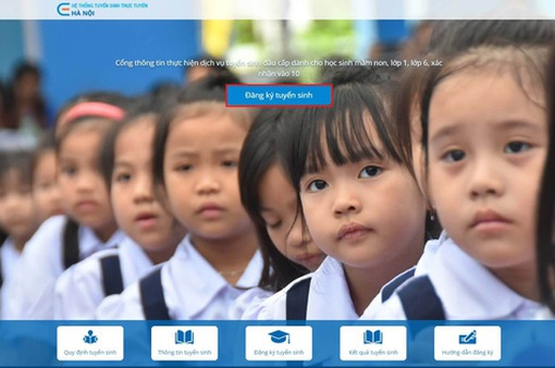Từ ngày 13/8, các trường ở Hà Nội tuyển sinh bằng hình thức trực tiếp