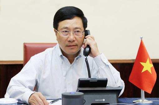 Việt Nam sẽ tiếp tục phối hợp cùng Hoa Kỳ và các đối tác trong xử lý các thách thức chung