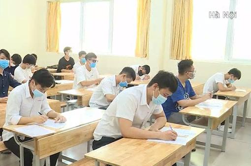 68 thí sinh Hà Nội từ vùng dịch về nếu âm tính với COVID-19 sẽ thi phòng riêng