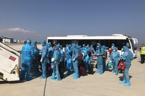 Đưa hơn 270 công dân Việt Nam từ Cộng hòa Cyprus và Saudi Arabia về nước