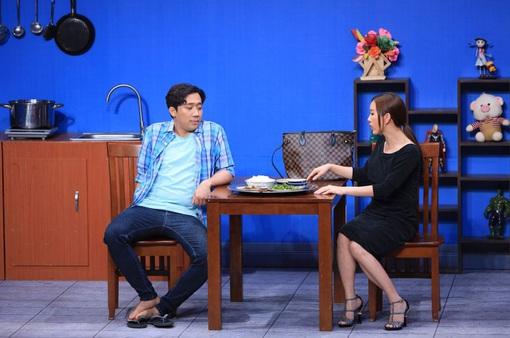 """Hoa hậu Thu Hoài đe dọa, Trấn Thành câm nín tại """"Ơn giời! Cậu đây rồi"""""""