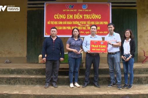 Quỹ Tấm lòng Việt hỗ trợ xây điểm trường khó tỉnh Hà Giang dịp năm học mới