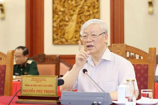 Bộ Chính trị cho ý kiến công tác chuẩn bị Đại hội Đảng bộ Công an