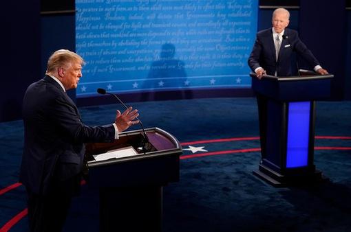 Cử tri Mỹ thất vọng về cuộc tranh luận của 2 ứng cử viên tổng thống