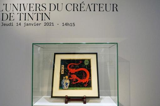 """Đấu giá hơn 56 tỷ VNĐ cho bức vẽ """"người hùng truyện tranh"""" Tintin"""
